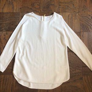 MICHAEL Michael Kors Sweater with Zipper Detail-XL